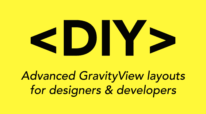 DIY Layout is for developers and designers. And for lovers.