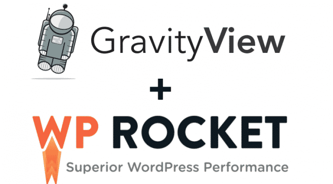GravityView + WP Rocket