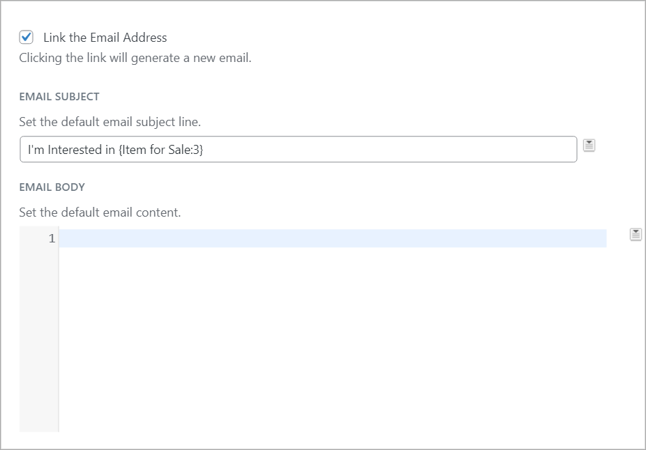 GravityView email settings